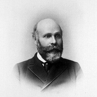William Goodell (gynecologist) - William Goodell in 1870 by Frederick Gutekunst