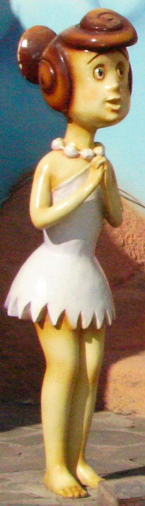 Wilma Flintstone - Wilma figurine.