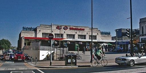 Wimbledon Station entrance geograph-4072099-by-Ben-Brooksbank