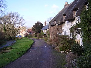 Calbourne - Image: Winkle St, Calbourne, IW, UK