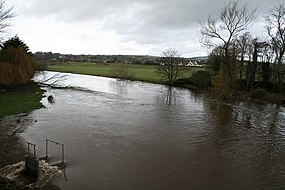 Winter Floods, Clohamon, Co. Wexford - geograph.org.uk - 838282.jpg