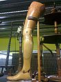 Wooden leg at Birmingham Museum Collection May 2015.jpg