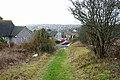 Woodingdean - looking down Balsdean Road - geograph.org.uk - 1728787.jpg