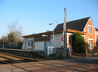 Wrenbury railway station