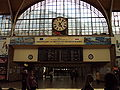 Wrocław - Dworzec Główny PKP- Wnętrze - Zegar.jpg