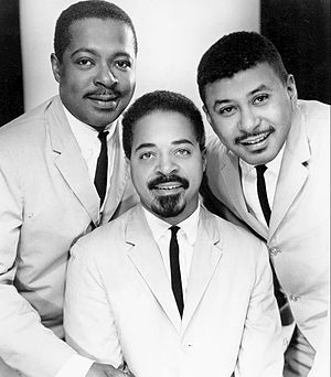 Wynton Kelly - The Wynton Kelly Trio; Kelly (left), Jimmy Cobb (center), Paul Chambers (right)
