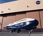 X-40A arrives at NASA Dryden - on ramp DVIDS701533.jpg