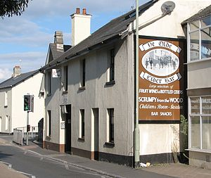 Cider house - Ye Olde Cider Bar in East Street, Newton Abbot.