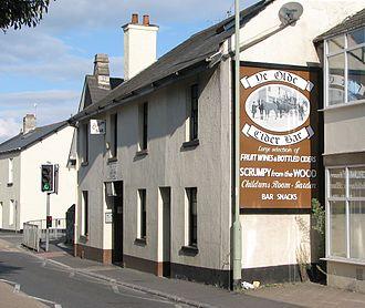 Cider house - Ye Olde Cider Bar in East Street, Newton Abbot.