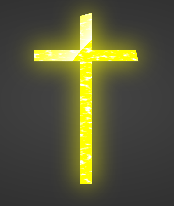 Yellow cross (cropped)