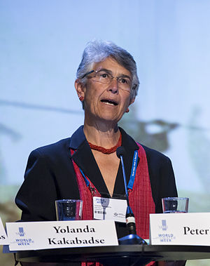 World Wide Fund for Nature - Yolanda Kakabadse, WWF president since 2010