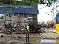 Yorkshire Chemical Works, Hunslet Lane - Demolition 5 - geograph.org.uk - 826614.jpg