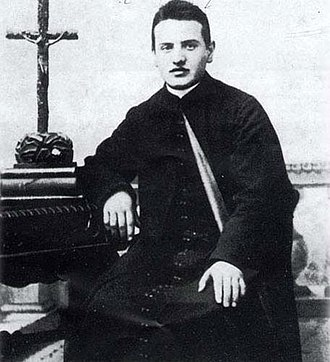 Pope John XXIII - The young Roncalli.