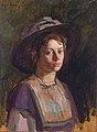 Young lady by Heinrich M Krabbé.jpg