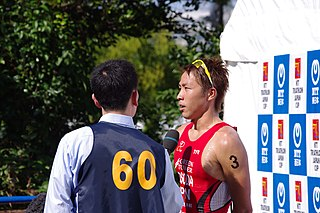 Japanese triathlete