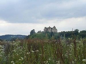 Zagórz - Image: Zagórz monastery ruins landscape