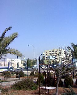 A view from the Zarqa city center