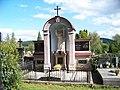 Zbraslav, Havlín, hrob se sochou Ježíše.jpg