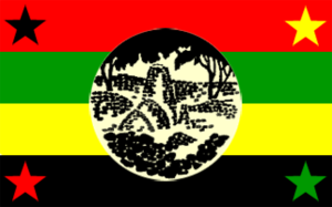 Zimbabwe People's Revolutionary Army - Image: Zimbabwe African People's Union flag