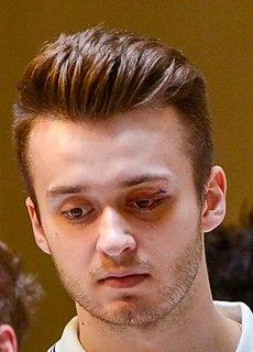 Radim Zohorna Czech ice hockey player (1996-)