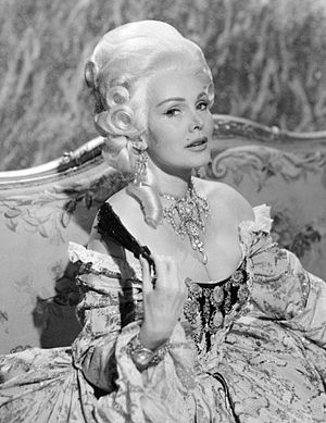NBC Matinee Theater - Zsa Zsa Gabor as Madame Brillon in The Last Voyage, 1957.