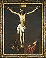 Zurbarán - CHRIST ON THE CROSS WITH THE VIRGIN, MARY MAGDALENE, AND SAINT JOHN AT HIS FEET, Delenda 234.jpg