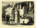 """Great Chaitya in Karli,"" by E. Therond, from 'Le Tour du Monde', 1870.jpg"