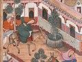 """The Spy Zambur Brings Mahiya to the City of Tawariq"", Folio from a Hamzanama (Book of Hamza) MET sf23-264-1b.jpg"