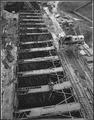 """""""Upstream view of block 40 taken from west bank conveyor tower."""" - NARA - 294188.tif"""