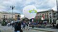 """ 13 - ITALY - Milano piazza Duomo - Mongolfiera - Hot air balloon - white - burners.jpg"
