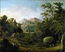 'Landscape with Farm and Mountains', Charles Codman, 1832.jpg