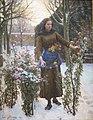 'Last Flowers' by Jules Breton, Cincinnati Art Museum.JPG