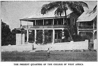 College of West Africa - Main Building (c.1910)