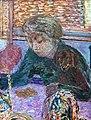 (Albi) Portrait au chien (1941) Pierre Bonnard MTL.Inv.71.jpg