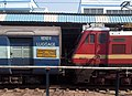 (Bhubaneshwar - Visakhapatnam) Intercity express at Vizianagaram.jpg