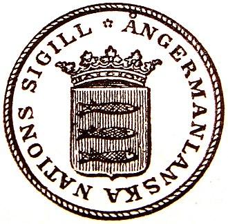 Norrlands nation - Image: Ångermanländska nationens sigill
