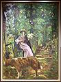 Édouard vuillard, il viale (sottobosco con dama col cane), 1907-08.JPG