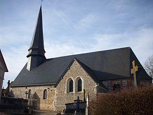 Bézu-la-Forêt - Image: Église Saint Martin de Bézu la Forêt