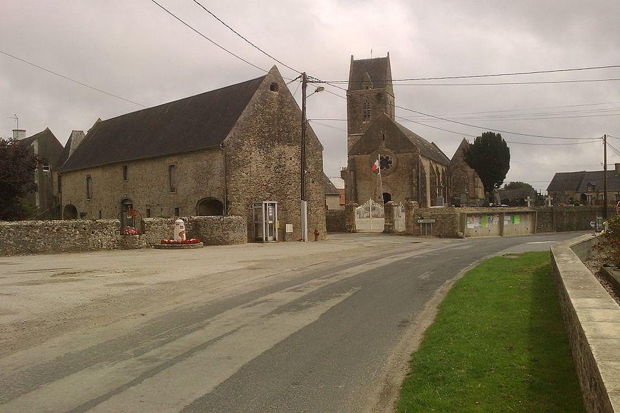 Vue du bourg d'fr:Émondeville