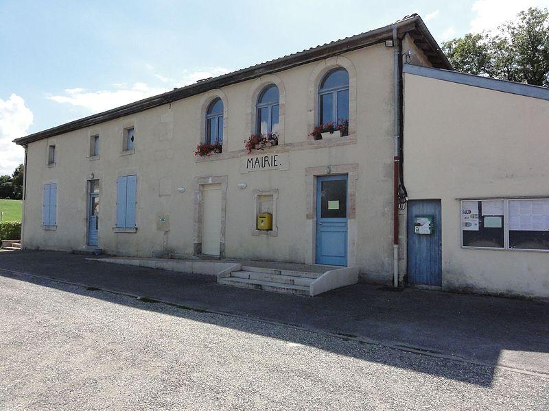 Érize-Saint-Dizier (Meuse) mairie et salle des fêtes