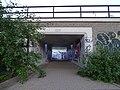 Žižkov, stezka U Sluncové - Pod Krejcárkem, prostřední podchod (01).jpg