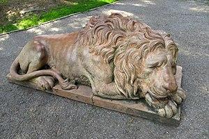 Zrenjanin - Lion in Županija Park