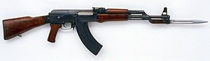 AK-47 - AK-47 with 6H2 bayonet
