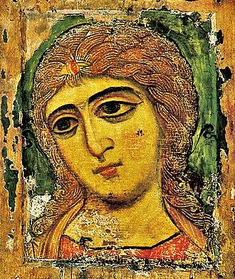 Russian Museum - Image: Архангел Гавриил (Ангел Златые Власы)2