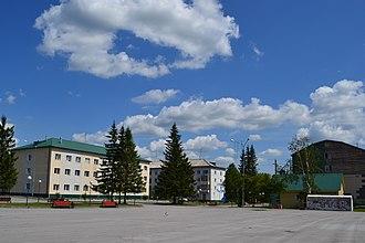 Topkinsky District - Topki square