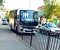 Г. Сальск, улица Пушкина, автобус Vector Next на маршруте №1.jpg