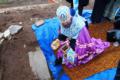 Епископ Амвросий совершает освящение закладного камня в основание храма Спаса Нерукотворного в селе Старые-Маты.png