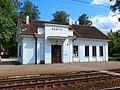 Здание вокзала о.п. Бабите - panoramio.jpg
