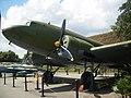 Літак Ли-2, Площадка військової техніки.JPG
