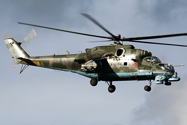 Soviet Helicopters - Mil 24 Hind